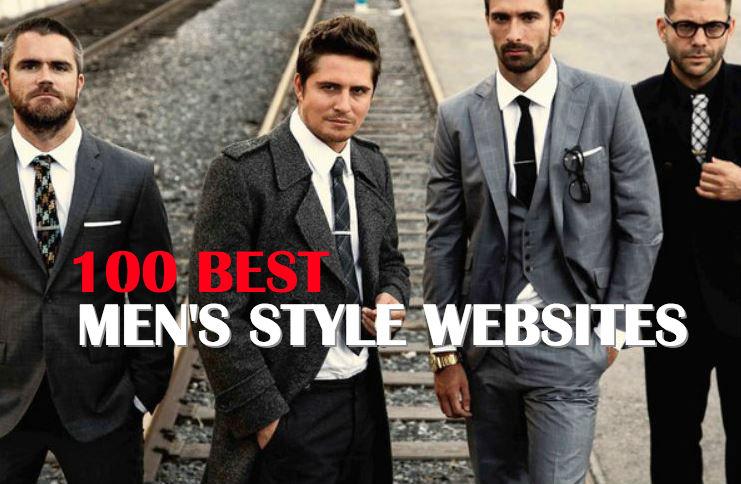 100 Best Men's Style Websites