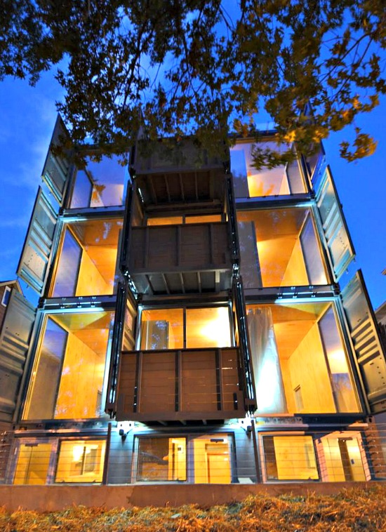 Shipping Container Apartments 4