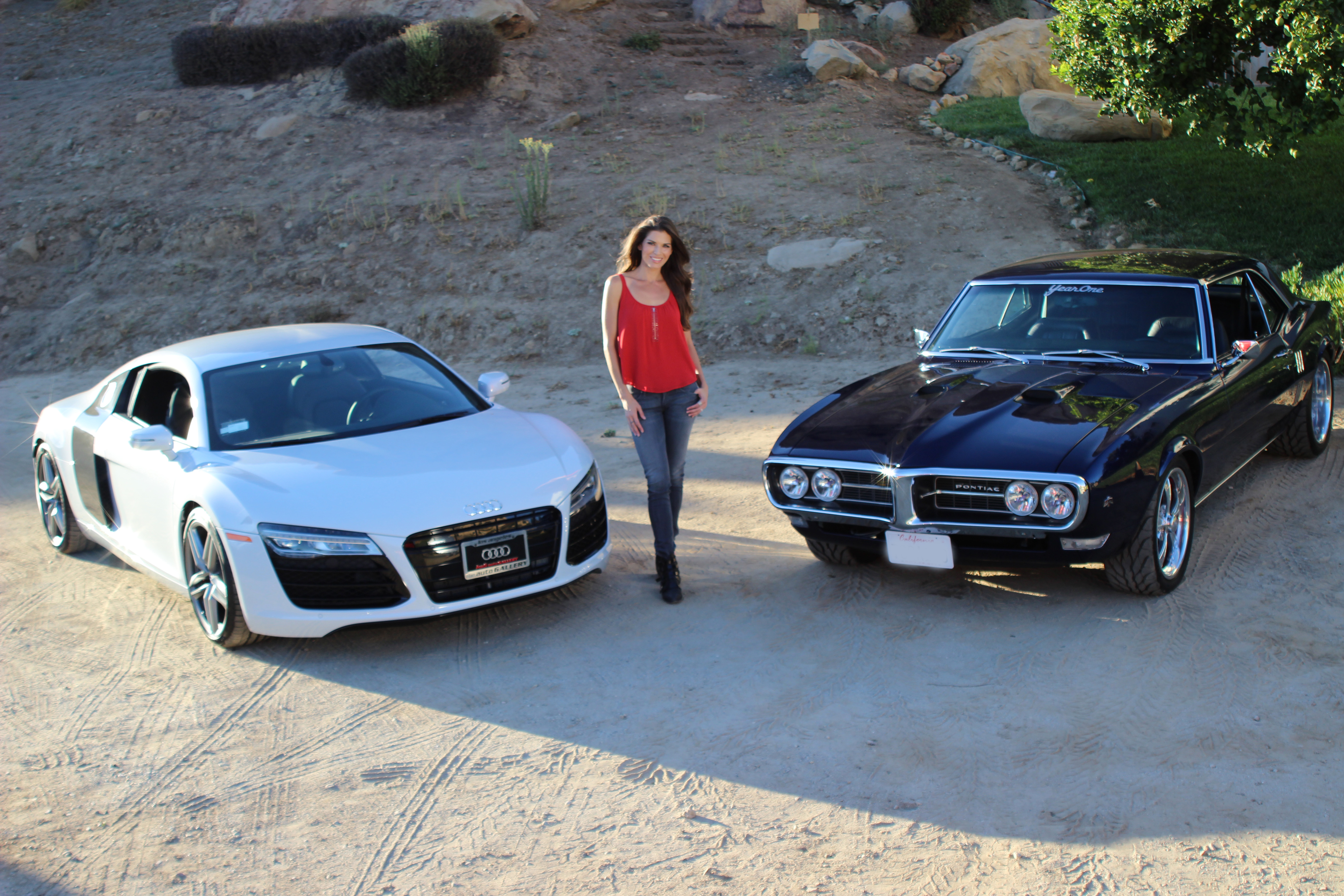 Adrienne Janic On Overhaulin The Audi R8 And The Gas