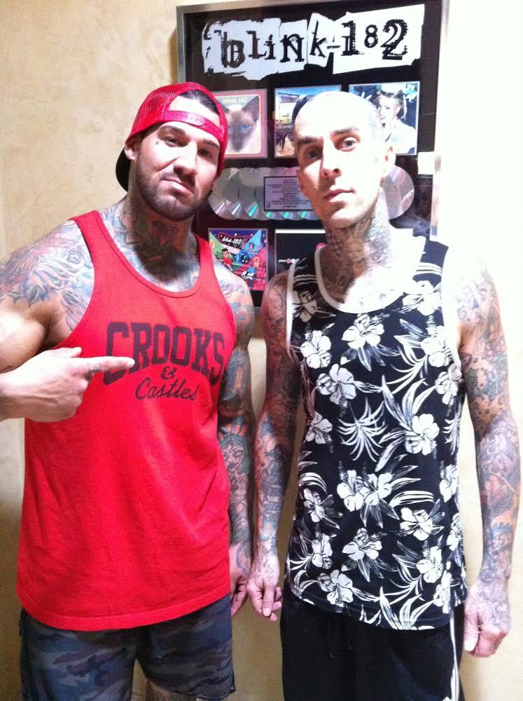 Travis Barker & I