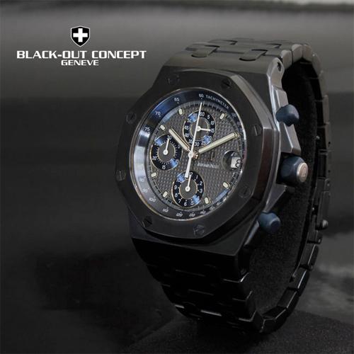 watch - Audemars Piguet - blackout