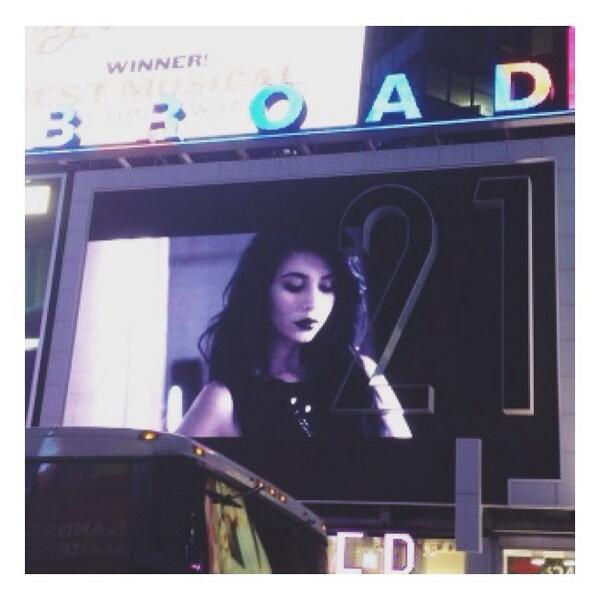 Hanna Beth Billboard