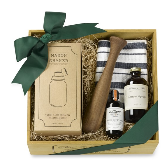Mason Jar Bar Gift Crate