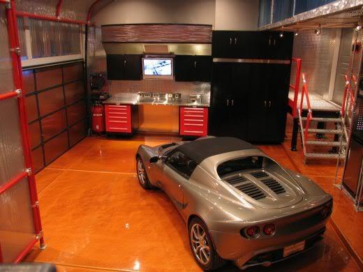 Ultimate million dollar garages urbasm for Garage lotus