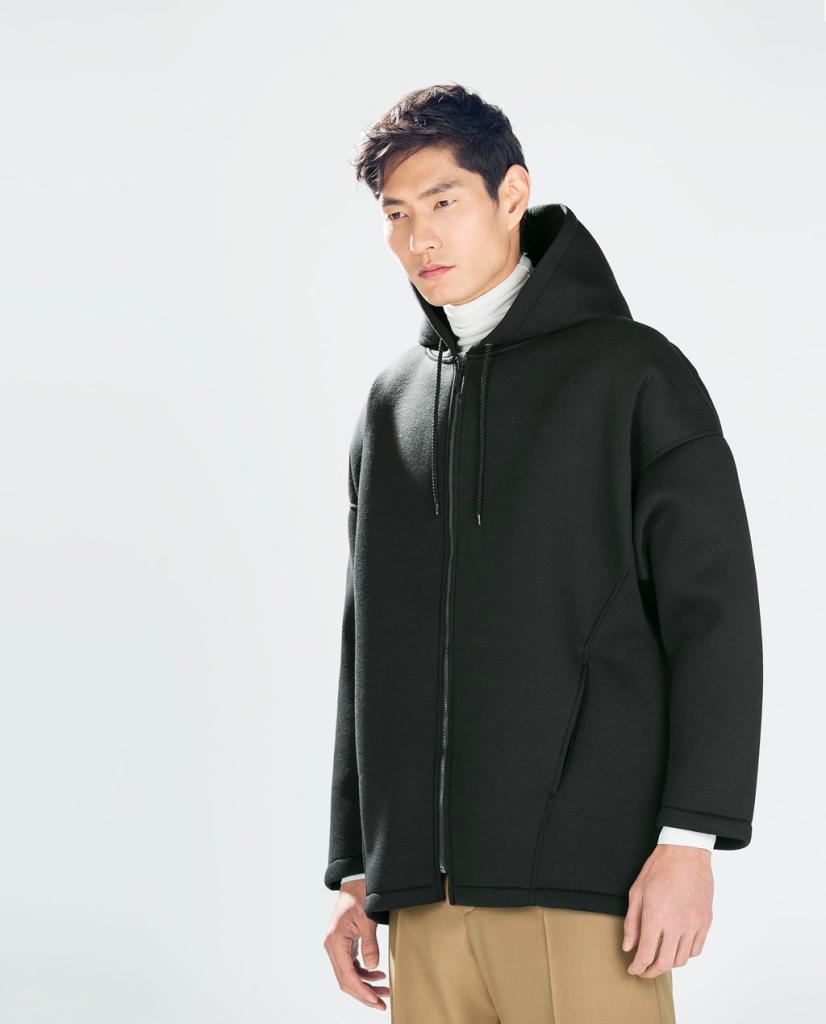 Oversized Black Coat