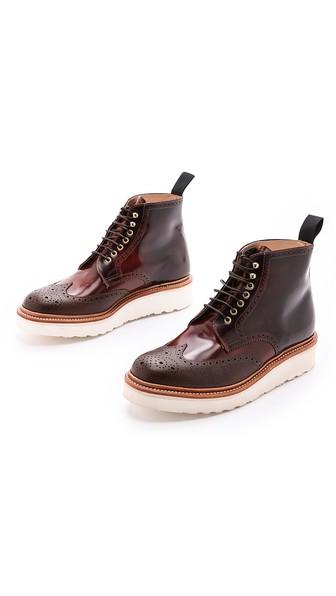 G Lab Brogue Boots