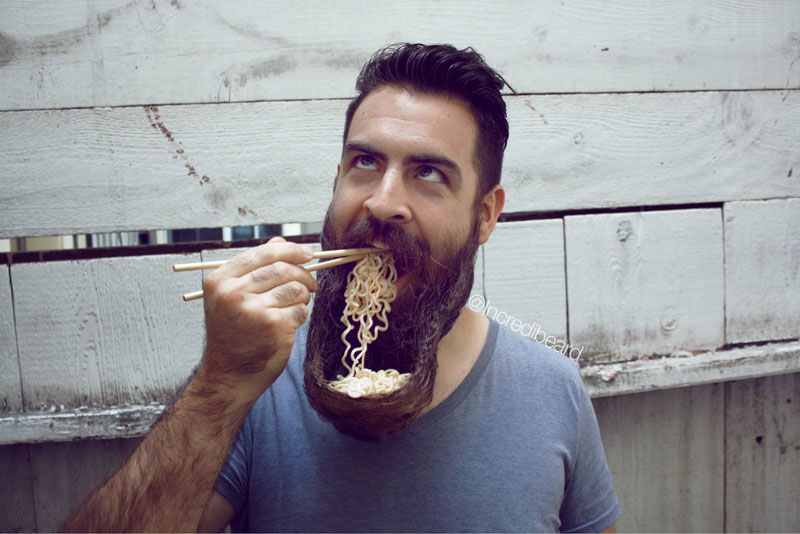 Isaiah Webb - mr incredibeard - noodles
