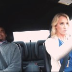 Female Stunt Driver Pranks Guys on a Speed Date
