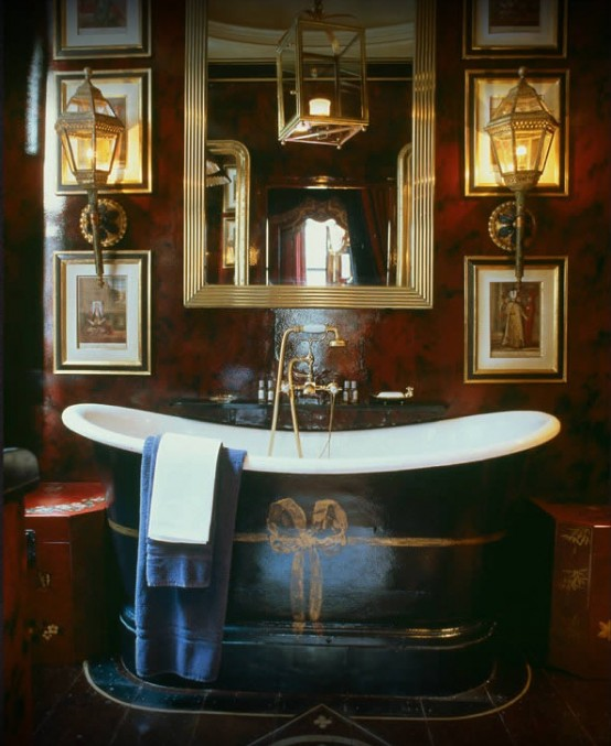 Masculine Master Baths: And 'Own' Your Bathroom Part 2