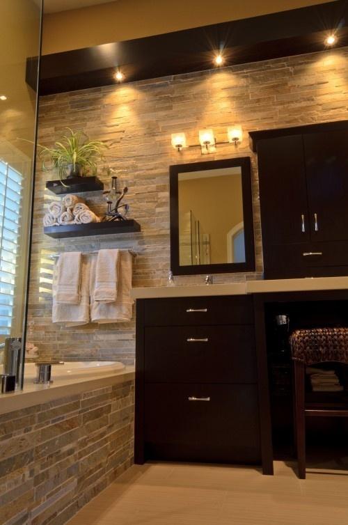 Masculine Bathroom Decor Ideas 61