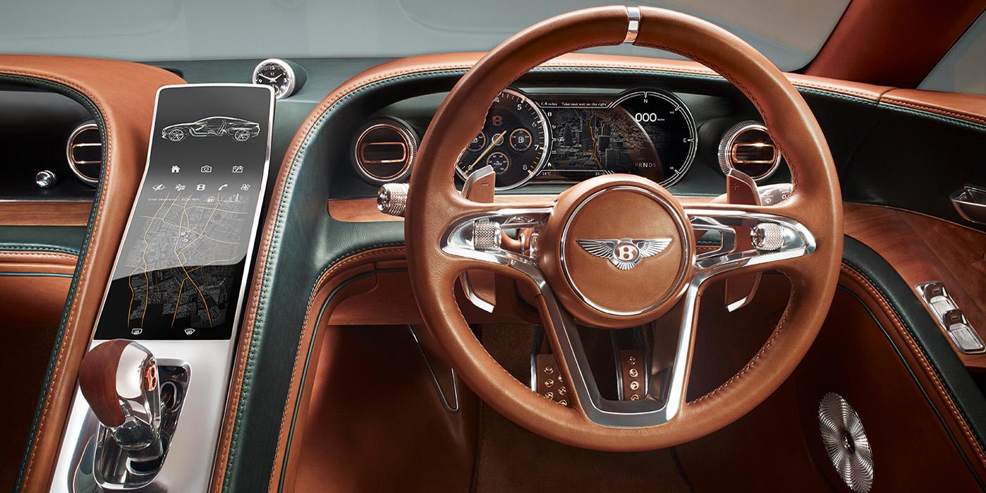 Bentley exp 10 - interior 2