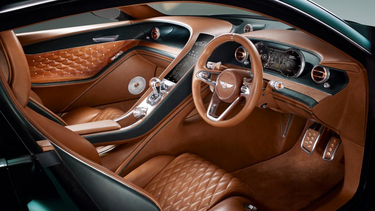 Bentley exp 10 - interior