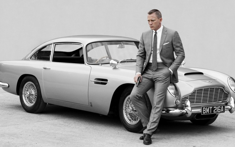 The latest Bond mobile should help with his popularity.