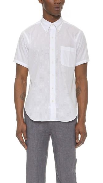 Mark McNairy Perforated Shirt