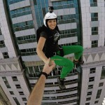 Freefall with Roberta Mancino as She Jumps from the World's Longest Zip Line in Dubai