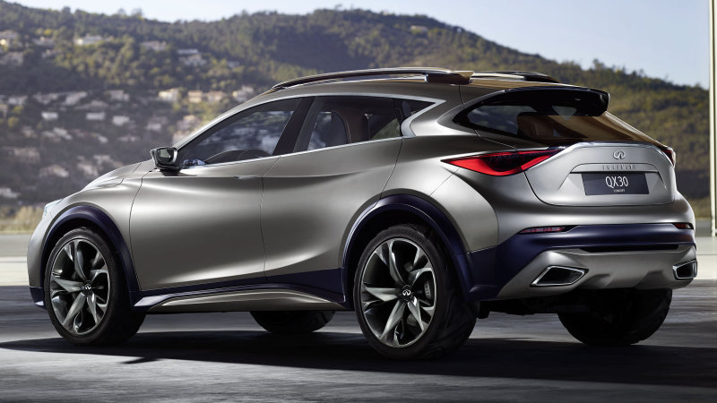2016 Infiniti Qx30 When Execution Overcomes Brute