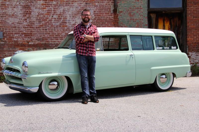 Rutledge 1953 Plymouth Wagon