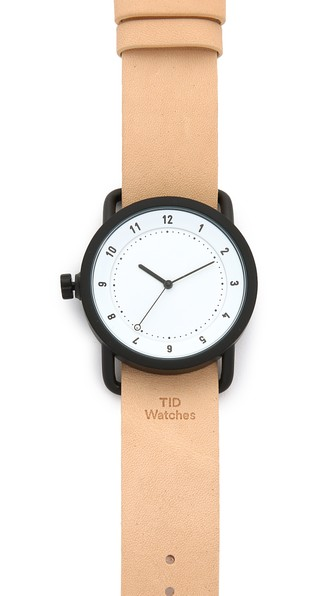 tid No 1 leather watch