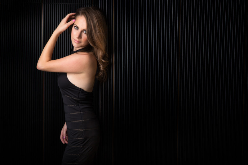 Ana Kasparian Black Wall