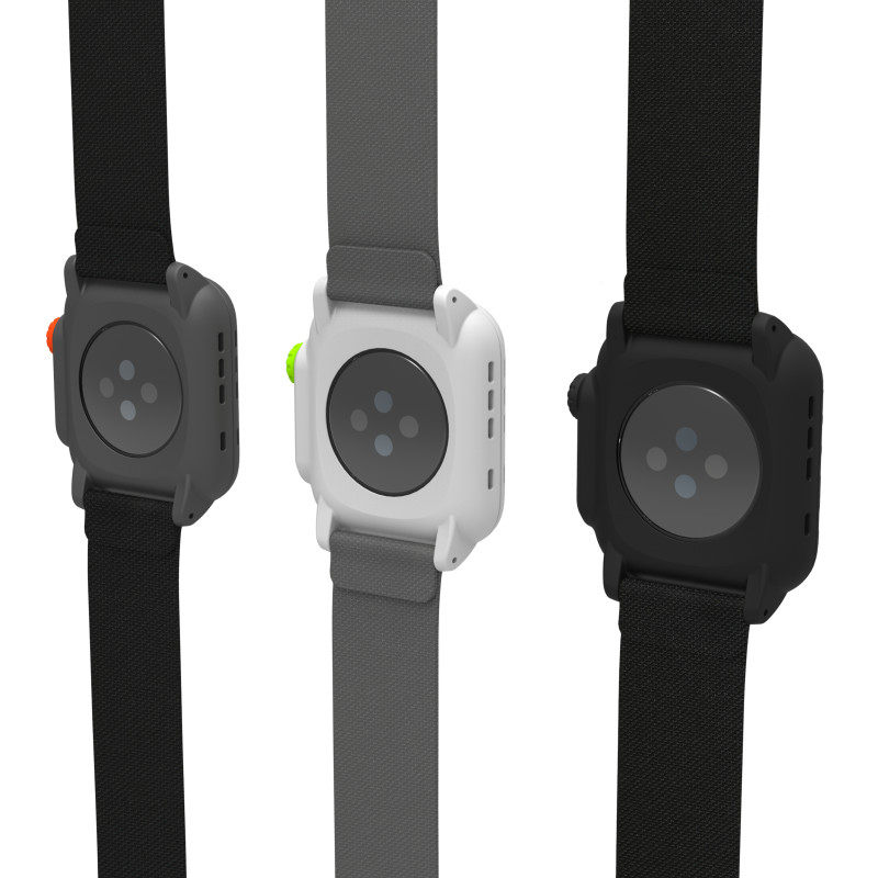 Catalyst Apple Watch. 3 colors (back view)