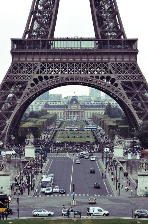 paris france tower street