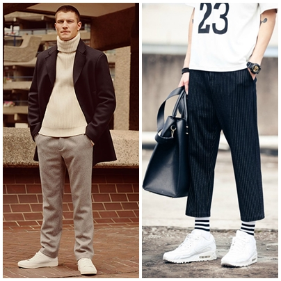 2. Wide-legged trousers