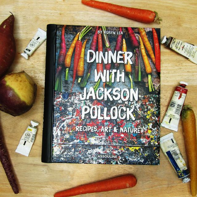 book - Dinner With Jackson Pollock