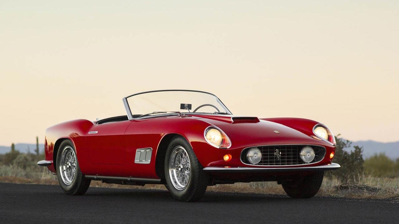 1958 Ferrari 250 GT LWB California Spyder