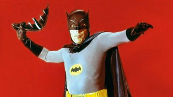 Adam West Bat Suit