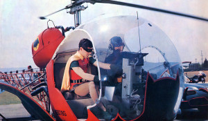 Adam West Batcopter