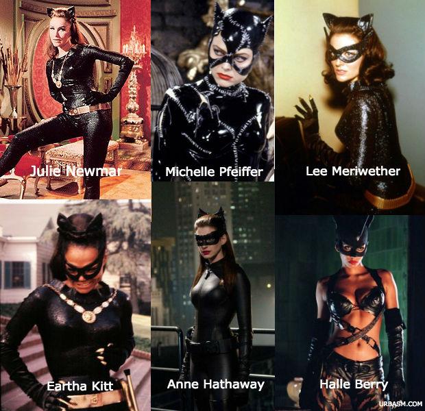 Catwoman - newmar-meriwether-kitt-pfeiffer-berry-hathaway