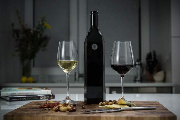 Kuvée - smart wine bottle