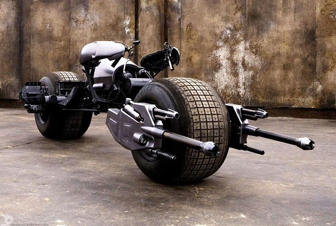 batmans motorcycle