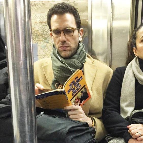 man reading book - meet women