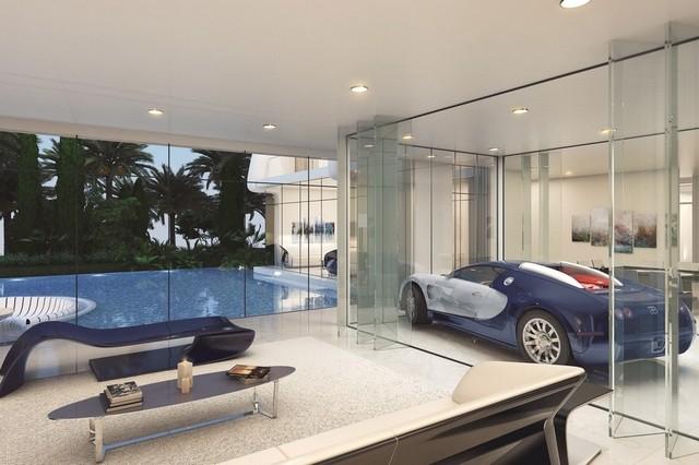 Damac Bugatti villas garage - Dubai