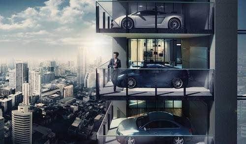 bangkok sky garage