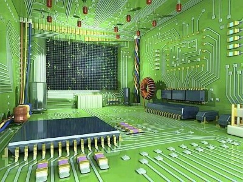 electronic bedroom
