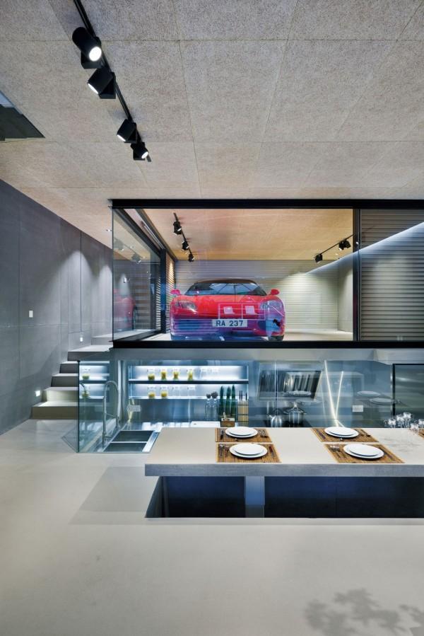 garage inside home - hong kong