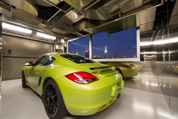 sky garage penthouse - new york