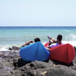Laybeany Air Lounge – Portable, Inflates with a Flick of the Wrist