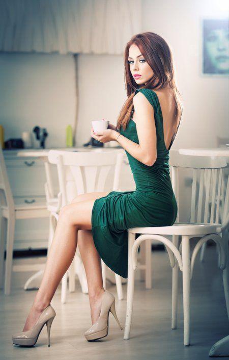 beautiful redhead sexy legs
