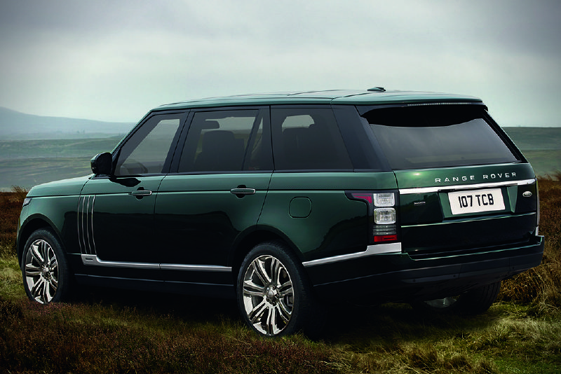 2016 Holland & Holland Range Rover - glamping