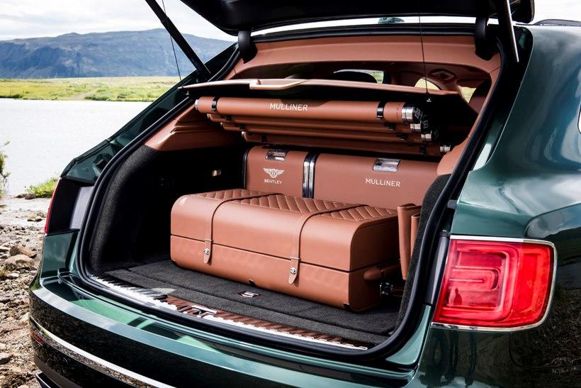 Bentley Bentayga - cargo area