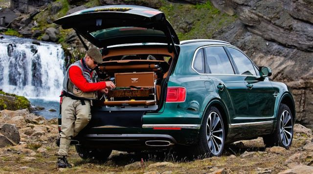 Bentley Bentayga - glamping