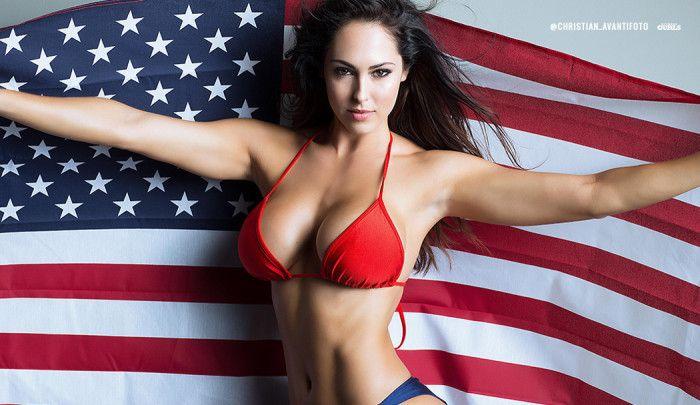 Hope Beel - american flag