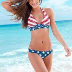 sexy 4th of July bikini babe