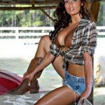 sexy country girl in shorts