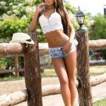 sexy country girl long legs
