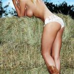 sexy country girl sideboob