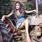 sexy country girls - tractor